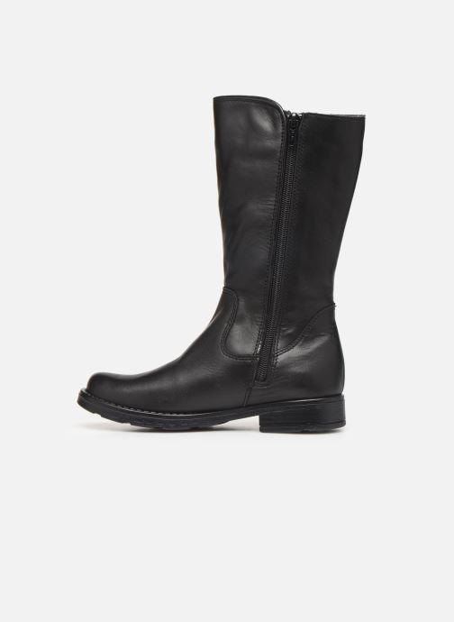 Bottes I Love Shoes BONNIE LEATHER Noir vue face