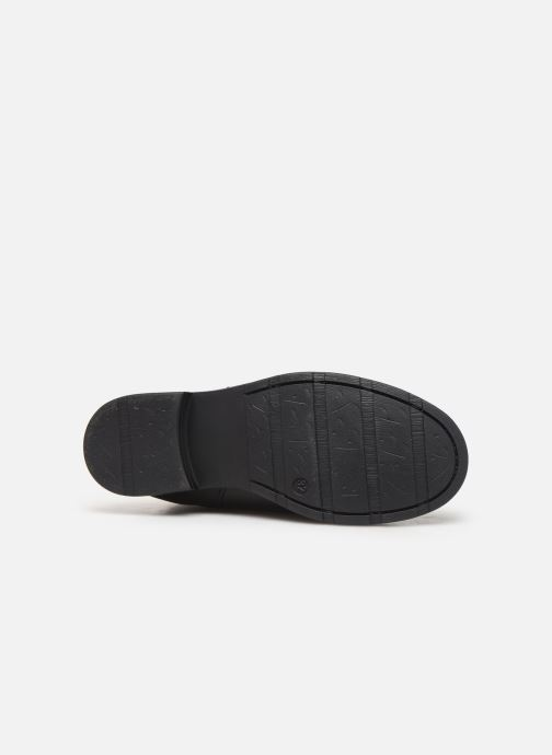 Bottes I Love Shoes BONNIE LEATHER Noir vue haut