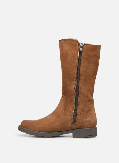 Bottes I Love Shoes BONNIE LEATHER Marron vue face