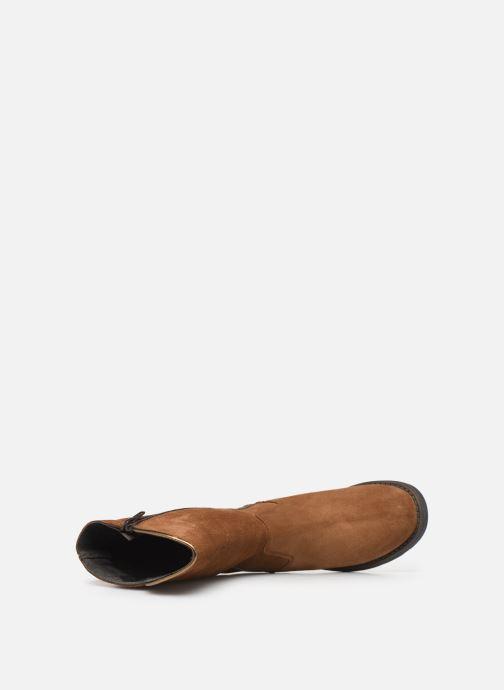 Bottes I Love Shoes BONNIE LEATHER Marron vue gauche