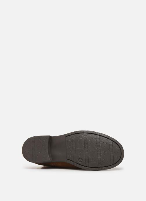 Bottes I Love Shoes BONNIE LEATHER Marron vue haut