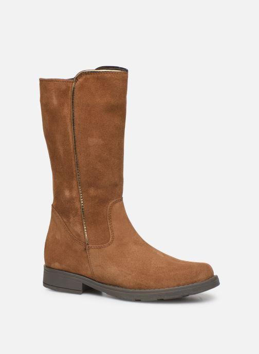 Bottes I Love Shoes BONNIE LEATHER Marron vue détail/paire