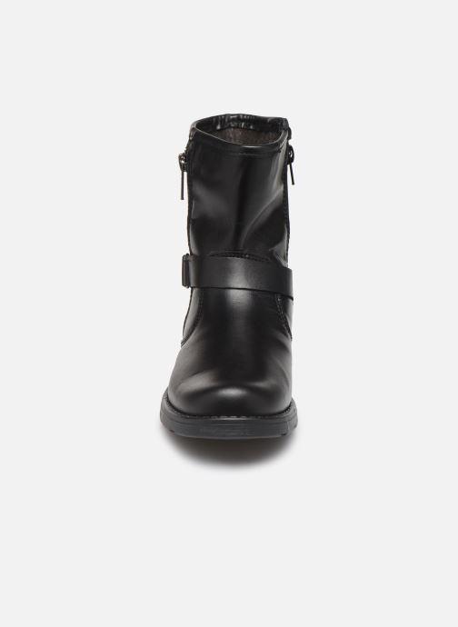 Stivaletti e tronchetti I Love Shoes BOJANA LEATHER Nero modello indossato