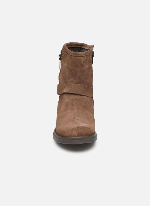Bottines et boots I Love Shoes BOJANA LEATHER Marron vue portées chaussures