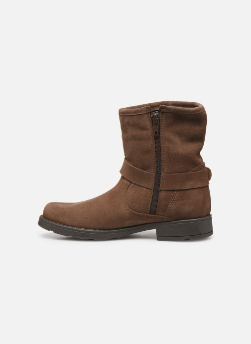 Boots en enkellaarsjes I Love Shoes BOJANA LEATHER Bruin voorkant