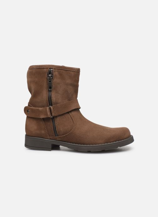 Boots en enkellaarsjes I Love Shoes BOJANA LEATHER Bruin achterkant