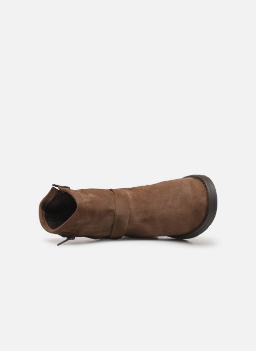 Boots en enkellaarsjes I Love Shoes BOJANA LEATHER Bruin links