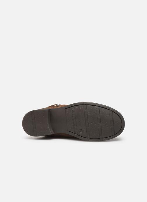 Bottines et boots I Love Shoes BOJANA LEATHER Marron vue haut
