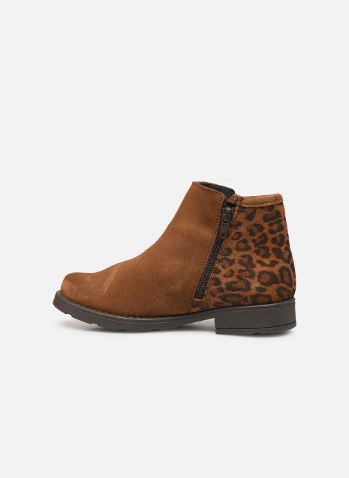 Boots en enkellaarsjes I Love Shoes BOUCHRA LEATHER Bruin voorkant