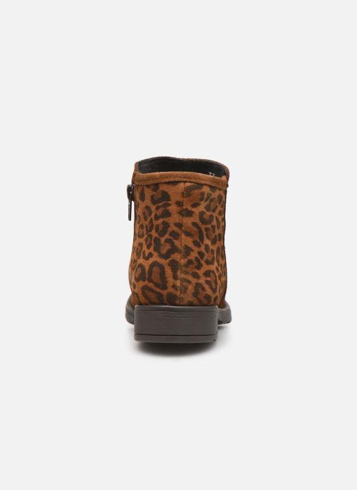 Boots en enkellaarsjes I Love Shoes BOUCHRA LEATHER Bruin rechts