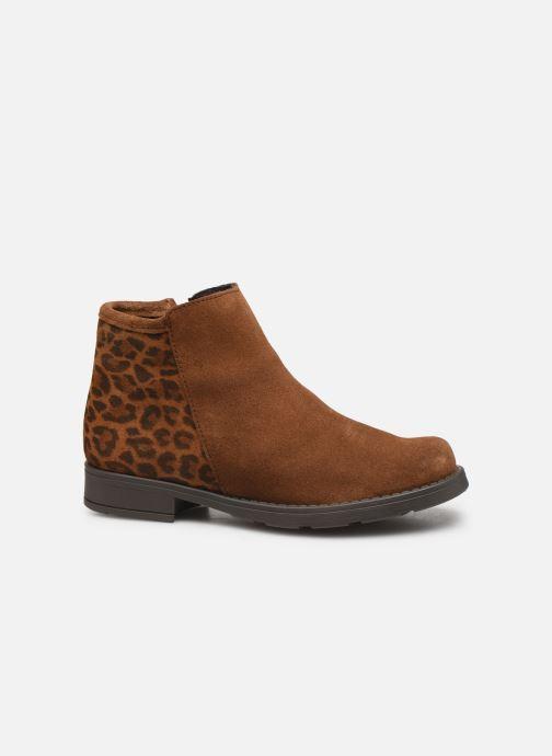 Boots en enkellaarsjes I Love Shoes BOUCHRA LEATHER Bruin achterkant