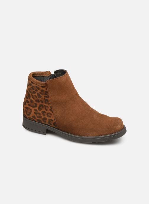 Boots en enkellaarsjes I Love Shoes BOUCHRA LEATHER Bruin detail