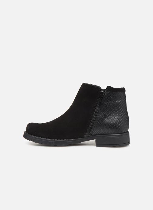 Boots en enkellaarsjes I Love Shoes BOUCHRA LEATHER Zwart voorkant