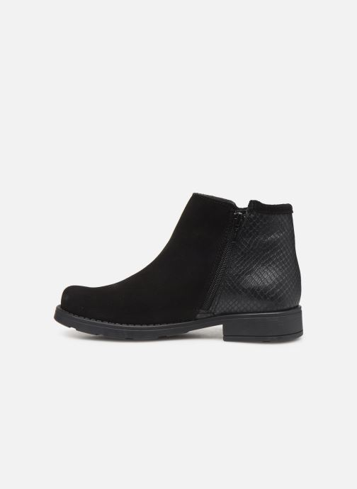 Bottines et boots I Love Shoes BOUCHRA LEATHER Noir vue face