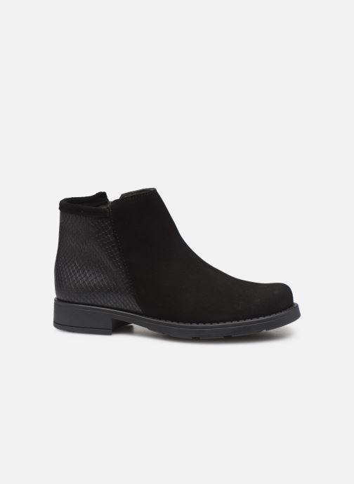 Botines  I Love Shoes BOUCHRA LEATHER Negro vistra trasera