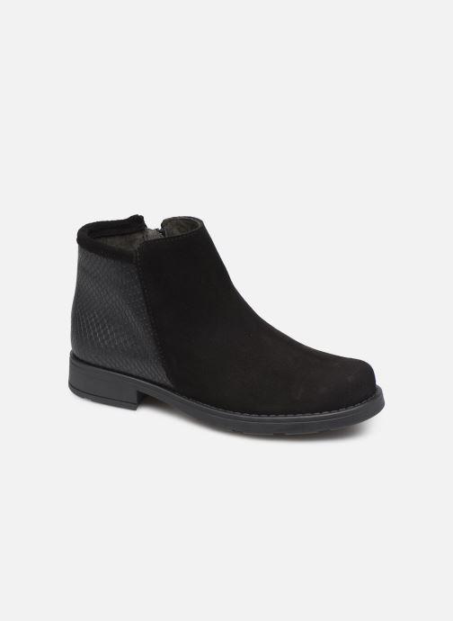 Bottines et boots I Love Shoes BOUCHRA LEATHER Noir vue détail/paire