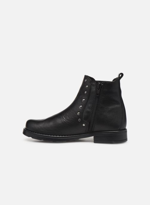 Ankle boots I Love Shoes BONIFACE LEATHER Black front view