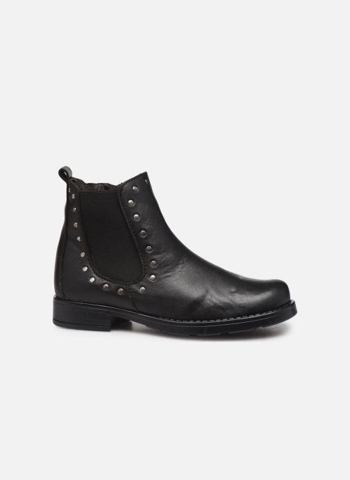 Boots en enkellaarsjes I Love Shoes BONIFACE LEATHER Zwart achterkant