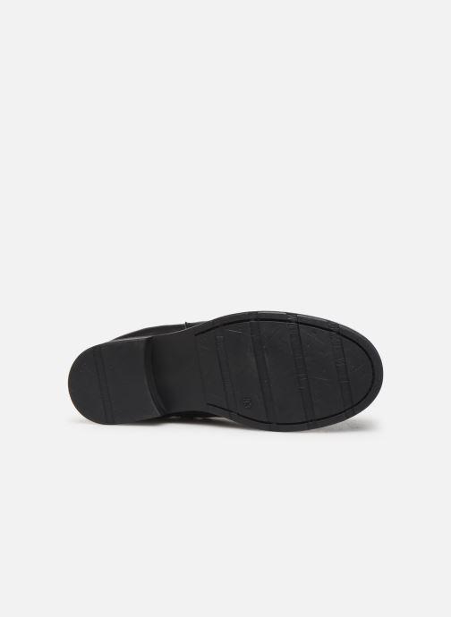 Stivaletti e tronchetti I Love Shoes BONIFACE LEATHER Nero immagine dall'alto