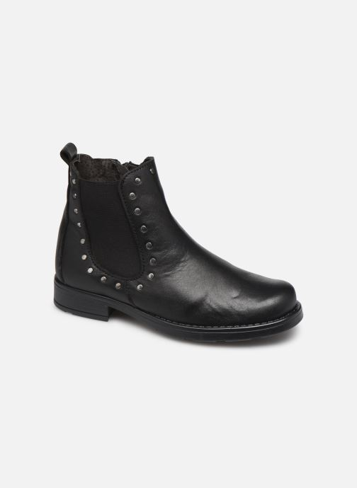 Ankle boots I Love Shoes BONIFACE LEATHER Black detailed view/ Pair view