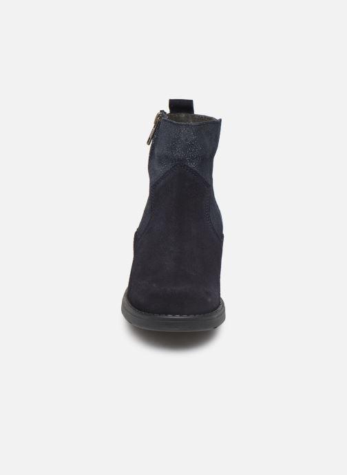 Botines  I Love Shoes BOZENA LEATHER Azul vista del modelo