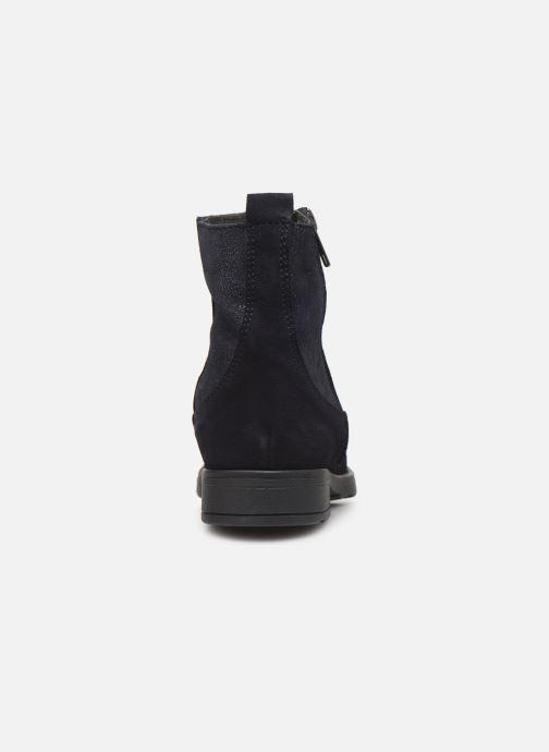 Ankelstøvler I Love Shoes BOZENA LEATHER Blå Se fra højre