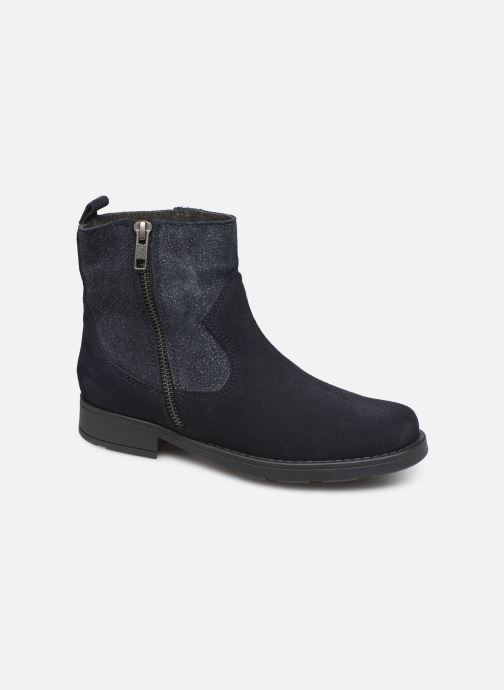 Botines  I Love Shoes BOZENA LEATHER Azul vista de detalle / par