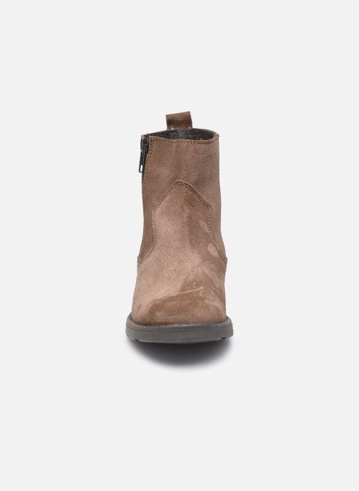 Bottines et boots I Love Shoes BOZENA LEATHER Marron vue portées chaussures