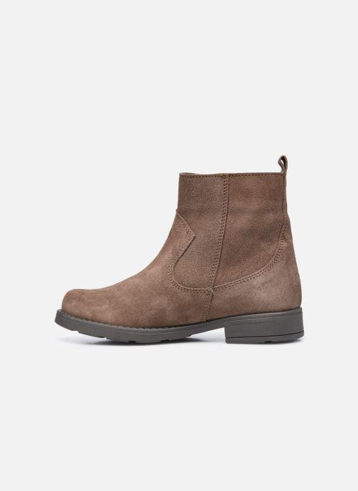 Bottines et boots I Love Shoes BOZENA LEATHER Marron vue face