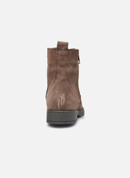 Bottines et boots I Love Shoes BOZENA LEATHER Marron vue droite