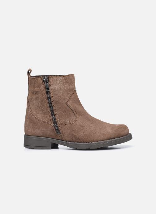 Boots en enkellaarsjes I Love Shoes BOZENA LEATHER Bruin achterkant