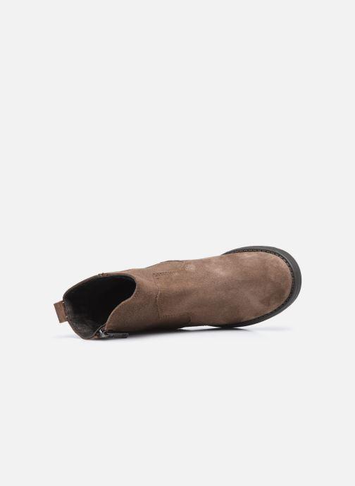 Bottines et boots I Love Shoes BOZENA LEATHER Marron vue gauche