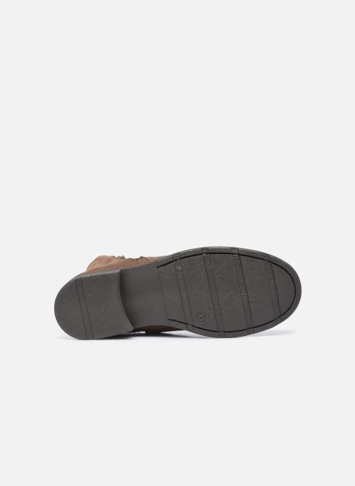 Bottines et boots I Love Shoes BOZENA LEATHER Marron vue haut