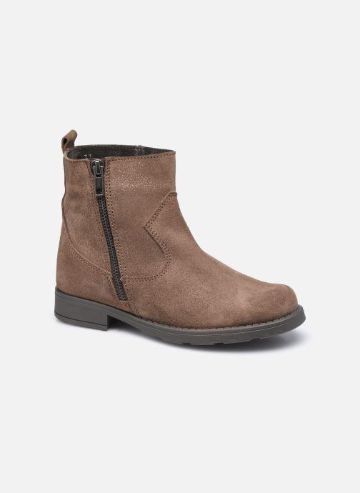 Bottines et boots I Love Shoes BOZENA LEATHER Marron vue détail/paire