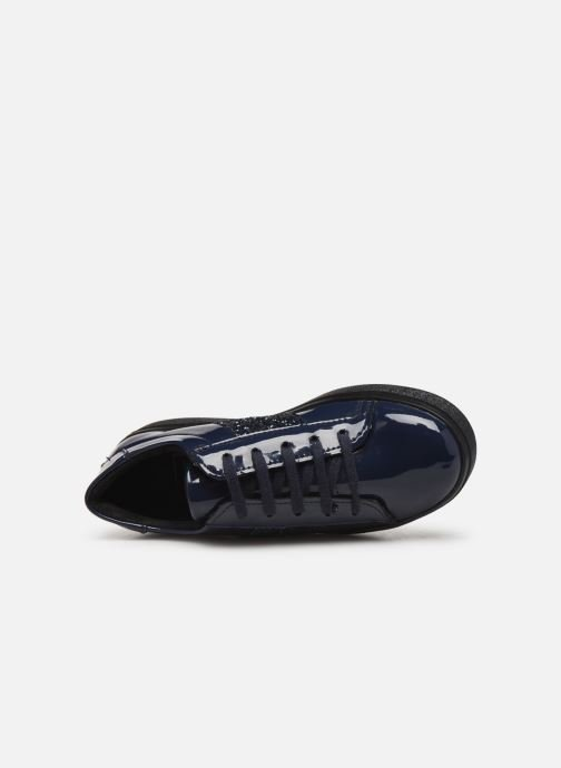 Deportivas I Love Shoes BOLFINE LEATHER Azul vista lateral izquierda