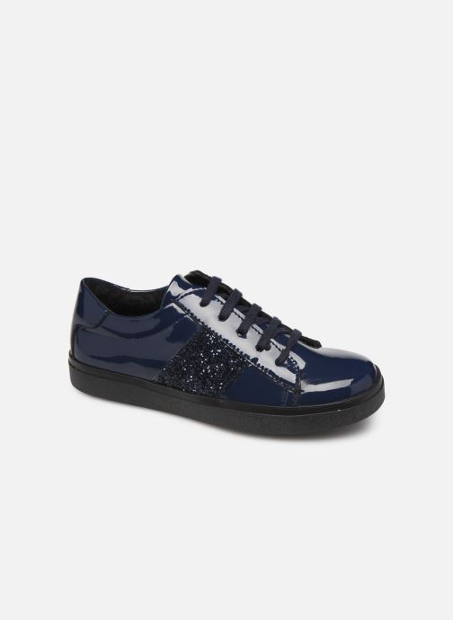 Deportivas I Love Shoes BOLFINE LEATHER Azul vista de detalle / par