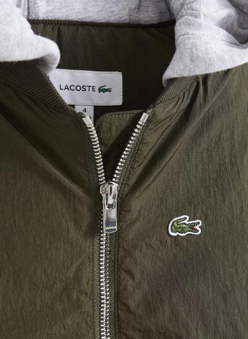 Kleding Lacoste Blouson enfant Groen model