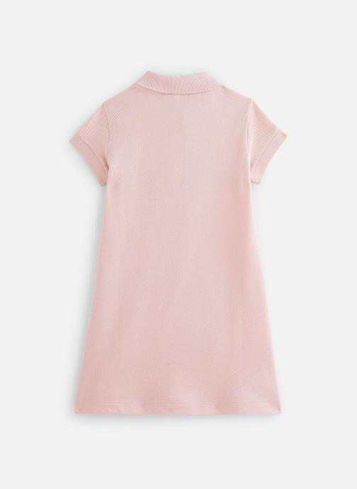 Vêtements Lacoste Robe enfant Rose vue bas / vue portée sac