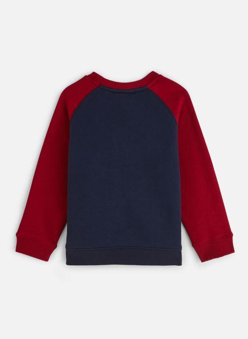 Vêtements Lacoste Sweat-shirt enfant Bleu vue bas / vue portée sac