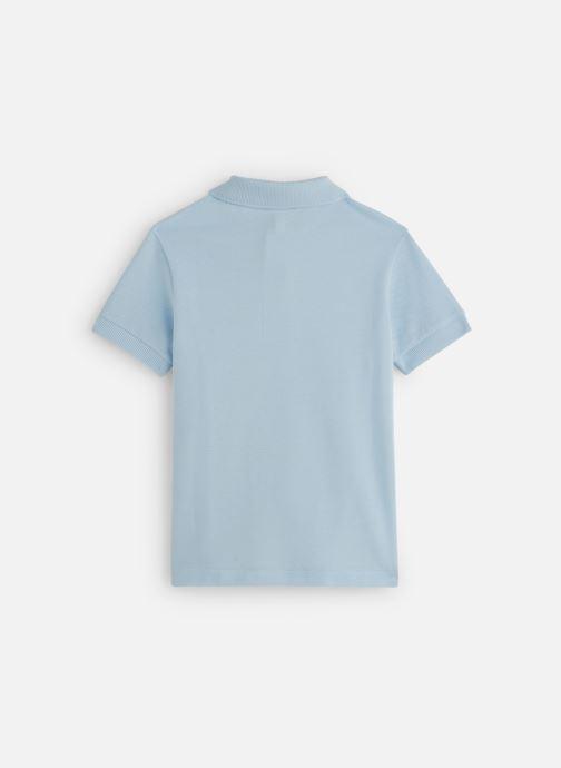 Vêtements Lacoste Best Polo MC enfant Bleu vue bas / vue portée sac
