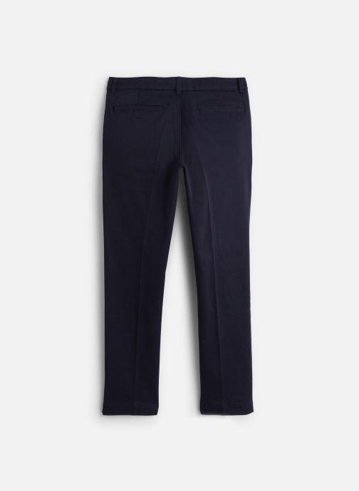 Vêtements Lacoste Pantalon Loisir enfant Bleu vue bas / vue portée sac