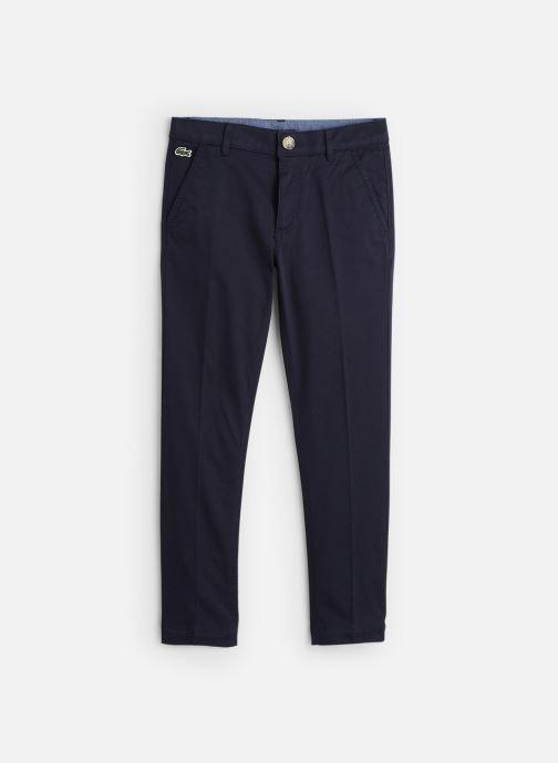 Vêtements Lacoste Pantalon Loisir enfant Bleu vue détail/paire