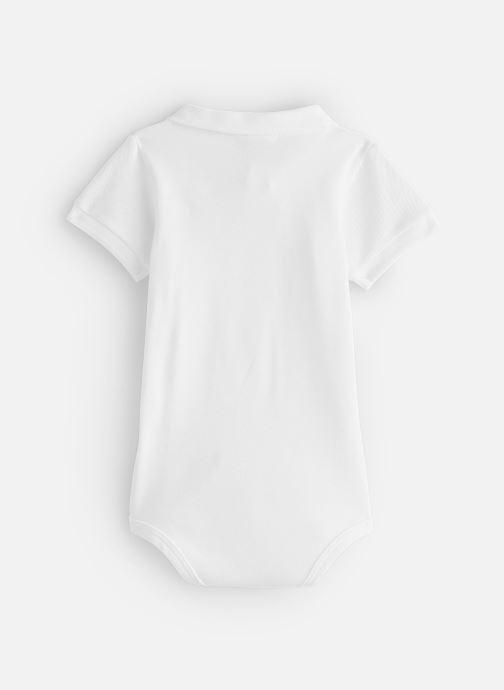 Vêtements Lacoste Ensemble Cadeau Enfant Blanc vue bas / vue portée sac