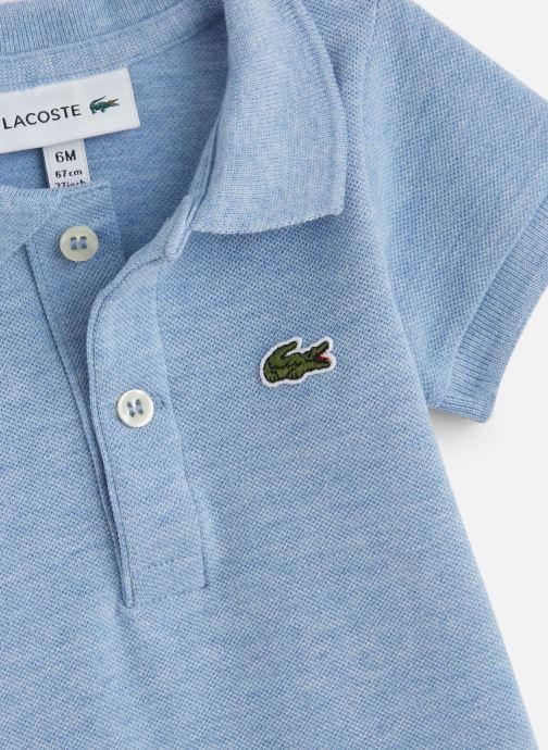 Vêtements Lacoste Ensemble Cadeau Enfant Bleu vue portées chaussures