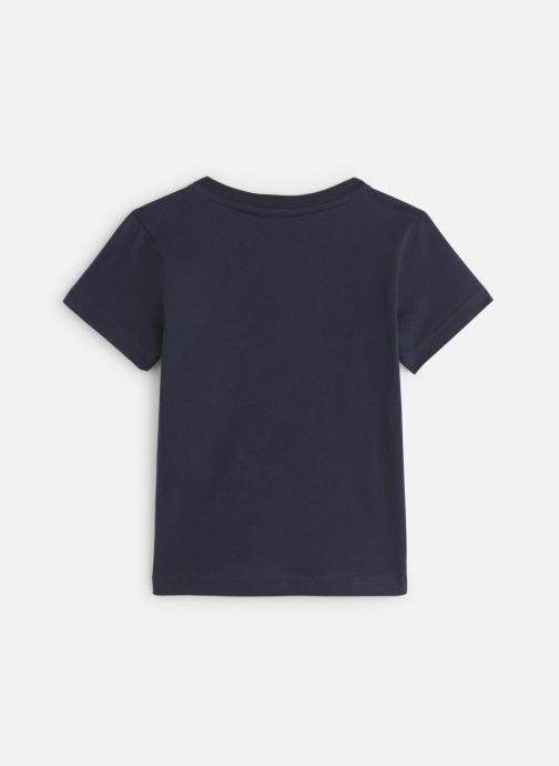 Vêtements Lacoste Tee-Shirt enfant Bleu vue bas / vue portée sac