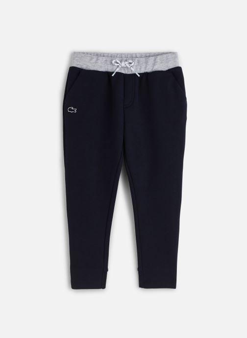 Kleding Lacoste Pantalon Survêtement enfant Blauw detail