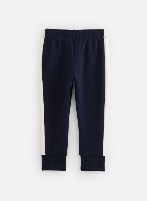 Vêtements Lacoste Pantalon Survêtement enfant Bleu vue bas / vue portée sac