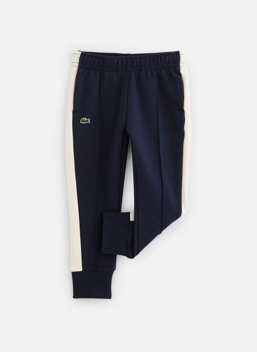 Vêtements Lacoste Pantalon Survêtement enfant Bleu vue détail/paire