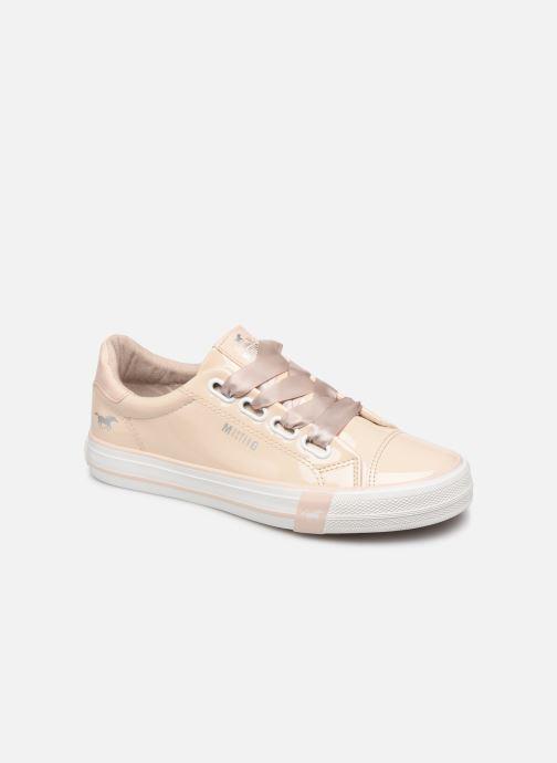 Baskets Mustang shoes 1313301 Blanc vue détail/paire