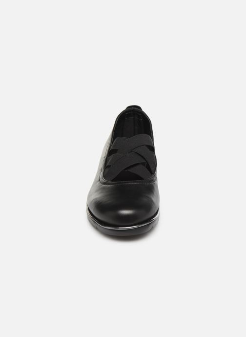 Ballerines The Flexx Crossboom Noir vue portées chaussures